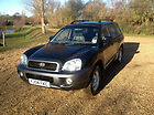 2004 Hyundai Santa Fe  4x4 2.4 MANUAL 70K WITH FULL SERVICE HISTORY